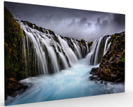 Bruarfoss by Sus Bogaerts Landscape, Stretched Canvas