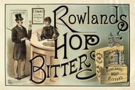 Rowland's Hop Bitters Australian Vintage Advertising