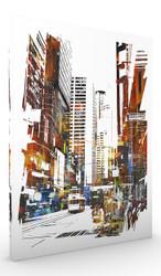 Wall Art, Abstract Cityscape I