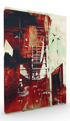 Wall Art, Abstract Cityscape II
