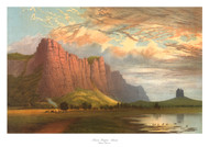 Mount Arapiles Sunset by Nicholas Chevalier
