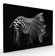 Tricephalous Wildlife Art Print by Pedro Jarque, Stretched Canvas