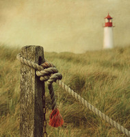 To the Lighthouse by Hannes Cmarits Art Print