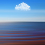 Being Alone by BJ Yang Seascape Art Print