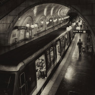 The Last Metro by Thomas Siegel Art Print
