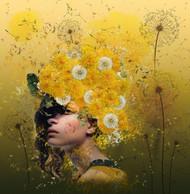 Dandelions by Natalia Simongulashvili Art Print