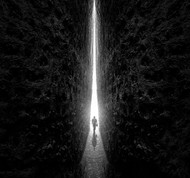 This Way by Sulaiman Almawash Art Print