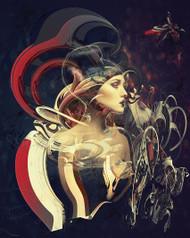 Reincarnation by Natalia Simongulashvili Art Print