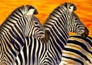 Zebras by Lori Watson African Art