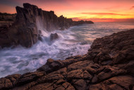 Wall by the Sea by Joshua Zhang Seascape