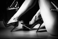 Heels by Paolo Carlo Art Print