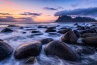 Arctic Coast Sunset by Daniel F. Seascape Print