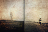 On the Road II by Janini Zhana Topchieva Art Print