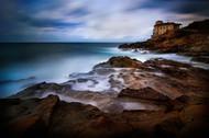 Tuscan Coast Calafuria by Antonio Grambone Seascape Print