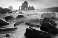 The Cathedral II by Martin Zalba Seascape Print