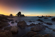 The Cathedral III by Martin Zalba Seascape Print
