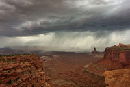 Approaching Storm by Nick Kalathas Landscape Print
