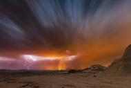 Storm Bardenas II by Martin Zalba Landscape Print