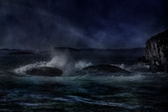 Breaking Waves by Willy Marthinussen Seascape Print