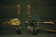 Fish and Drills by Brig Barkow Still Life Print