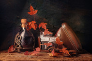 Purple Etude by Stanislav Aristov Still Life Print