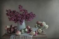 Retro Postcard by Margareth Perfoncio Floral