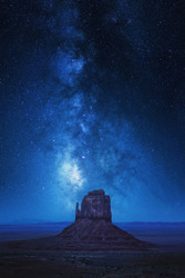 Monument Milkyway by Juan Pablo de Landscape