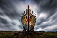 Boat by Sus Bogaerts Landscape