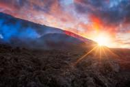 Volcano Sunrise by Barathieu Gabriel Landscape