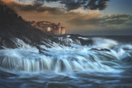Tellaro Waterfall by Paolo Lazzarotti Seascape