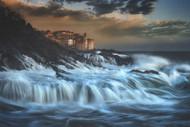 Tellaro Waterfall by Paolo Lazzarotti Seascape