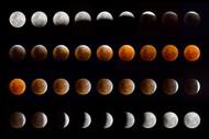 Lunar Eclipse by Chechi Peinado Art