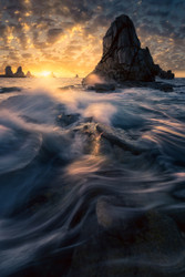 Flow by Luca Benini Seascape Print