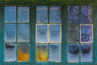 18 Panes of History by Kent Olsson art print
