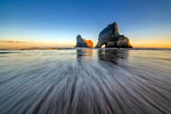 Wharaiki Beach by Hua Zhu Seascape