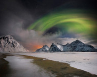 Northern Lights by Ignacio Palacios Landscape Print