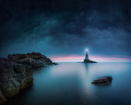 End of Dogwatch by Veselin Atanasov Seascape Print