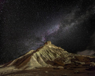 Bardenas Night by Martin Zalba Landscape Print