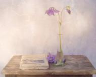 Maclancolie by Marie Anne Stas Art Print