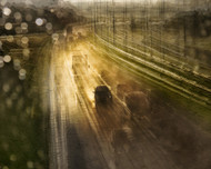Road Trip After the Rain by Thomas Vanoost Art Print