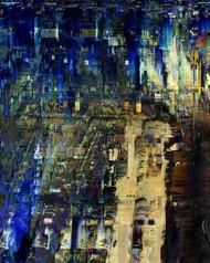 The Inventiveness of the Night by Sara Biljana Gaon Art Print