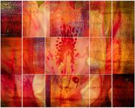 Cubic Mosaic by Jois Domont Art Print
