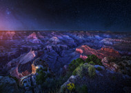 Grand Canyon Night by Juan de Pablo Landscape