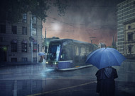 The Long Goodbye 5 by Adrian Donoghue Art Print