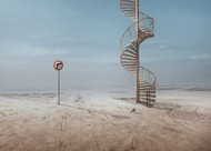 Forbidden to Climb by Sulaiman Almawash Art Print