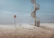 Forbidden to Climb by Sulaiman Almawash Art Print