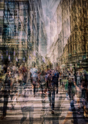 Alone In A Crowd by Thomas Vanoost Art