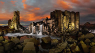 Bombo Quarry by Francis Keogh Landscape