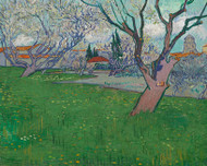 Vincent van Gogh Print Orchard in Blossom View of Arles