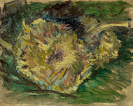 Vincent van Gogh Print Sunflowers Gone to Seed